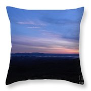 Sunrise Point On Highway 7 Throw Pillow
