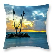 Sunrise Punta Cana #2 Throw Pillow