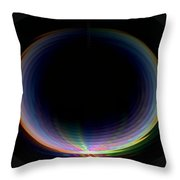 Sunrise Ripples Throw Pillow