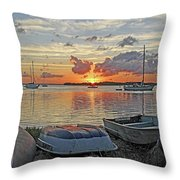 Sunrise - Rise And Shine Throw Pillow