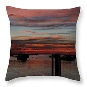 Sunrise Rye Nh Throw Pillow