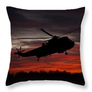 Sunrise Search And Rescue Throw Pillow