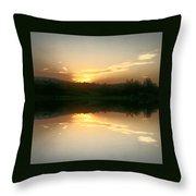 Sunrise Serenity Throw Pillow