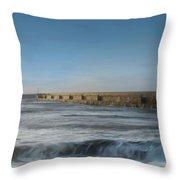 Sunrise Shoreham  Throw Pillow