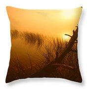 Sunrise Silhouettes Throw Pillow