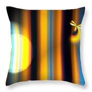Sunrise Stripes Throw Pillow