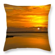 Sunrise Summit Throw Pillow