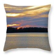 Sunrise-sunset 3 Throw Pillow