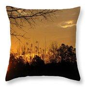 Sunrise Sunset Throw Pillow