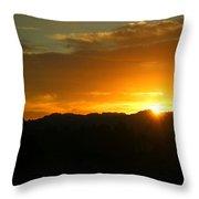 Sunrise Three 09 29 17 Throw Pillow