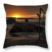 Sunrise Tramore Throw Pillow