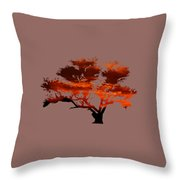 Sunrise Tree 2 Throw Pillow