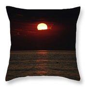 Sunrise Window Path Delray Beach Florida Throw Pillow