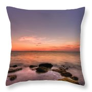 Sunrise Wisp Throw Pillow