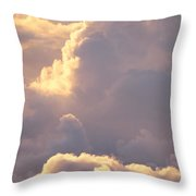 Sunrise With Shadows Throw Pillow