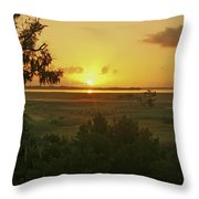 Sun's Up Throw Pillow