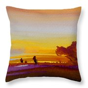 Sunset 07 Throw Pillow