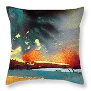 Sunset 08 Throw Pillow