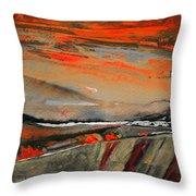 Sunset 10 Throw Pillow