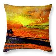 Sunset 15 Throw Pillow