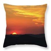 Sunset-2 Throw Pillow