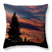 Sunset 2 Throw Pillow