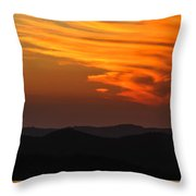 Sunset-3 Throw Pillow by Fabio Giannini