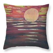Sunset-3 Throw Pillow
