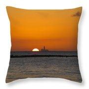 Sunset 3 Throw Pillow