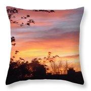Sunset 31 Throw Pillow