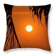 Sunset 35 Throw Pillow