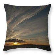 Sunset - 38 Throw Pillow