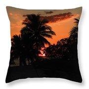 Sunset - 46 Throw Pillow