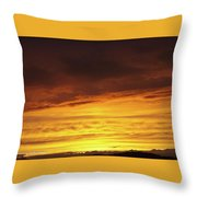 Sunset - 52 Throw Pillow