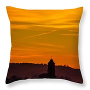 Sunset 6 Throw Pillow