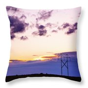 Sunset #7 Throw Pillow
