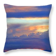 Sunset 8-19-15 Throw Pillow