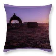 Sunset Admiration Throw Pillow