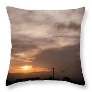 Sunset Ahuachapan 11 Throw Pillow