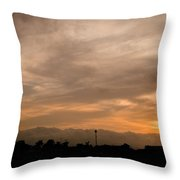 Sunset Ahuachapan 12 Throw Pillow