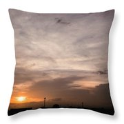 Sunset Ahuachapan 14 Throw Pillow