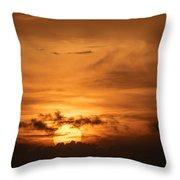 Sunset Ahuachapan 24 Throw Pillow