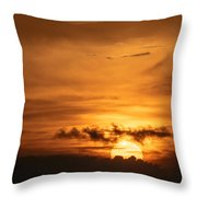 Sunset Ahuachapan 27 Throw Pillow