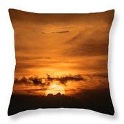 Sunset Ahuachapan 28 Throw Pillow