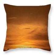 Sunset Ahuachapan 29 Throw Pillow