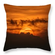Sunset Ahuachapan 33 Throw Pillow