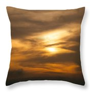 Sunset Ahuachapan 4 Throw Pillow