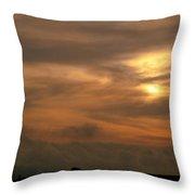 Sunset Ahuachapan 6 Throw Pillow