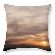 Sunset Ahuachapan 7 Throw Pillow