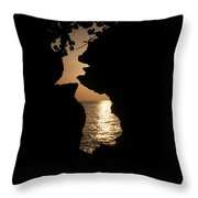 Sunset And Passion Throw Pillow